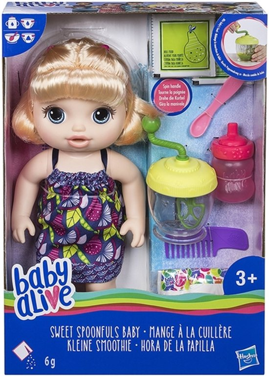 Baby Alive - Sweet Spoonfuls Baby - Blonde