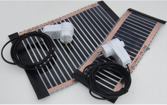 Reptielverwarming, Terrarium verwarming, 20x75cm-90W-600W/m2,