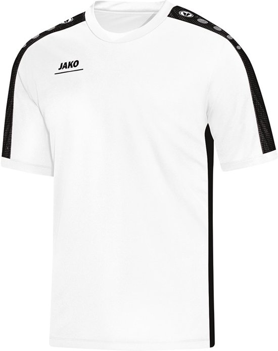 Jako - T-Shirt Striker - wit/zwart - Heren - maat  XXL