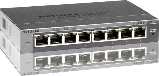 Netgear ProSAFE GS108E - Switch