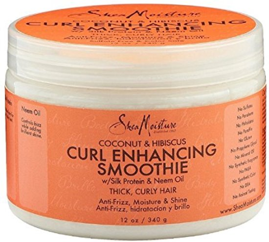 Shea Moisture Coconut&Hibiscus Curl Enhancing Smoothie 340gr