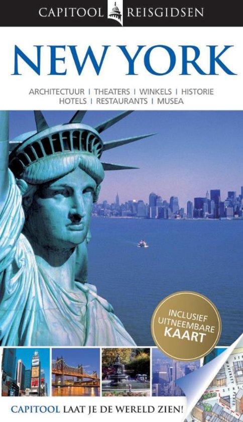 Capitool New York + uitneembare kaart