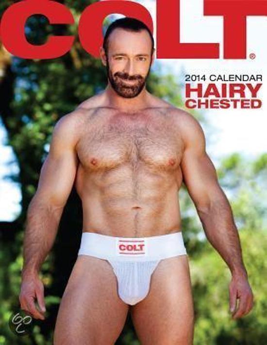 Bol Colt Hairy Chested Calendar 9781880777862 Boeken