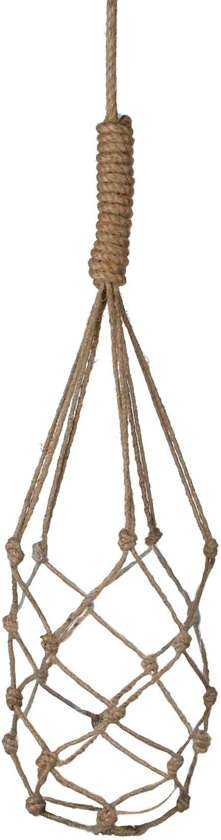 plantenhanger - touw  2 stuks