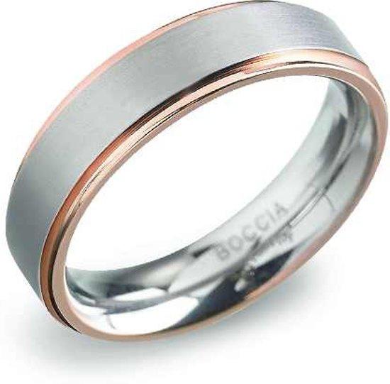 Boccia Titanium 0134-03 Ring - Titanium - Bicolor
