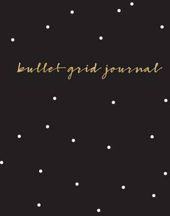 Bullet Grid Journal - Zwart, stippen