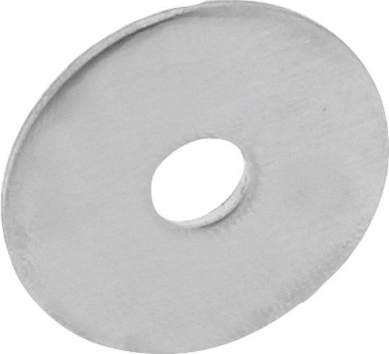 Intersteel Drukverdeelrozet voor deurgrepen ø 32 mm rvs geborsteld