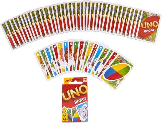 Thumbnail van een extra afbeelding van het spel Uno Junior - Kaartspel