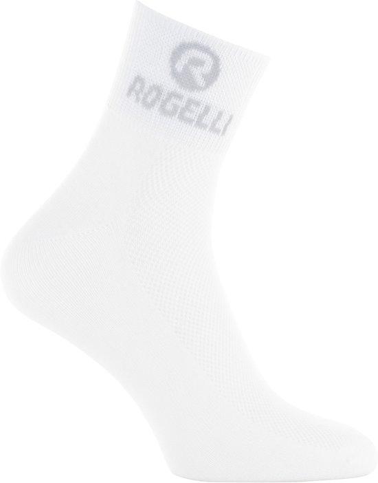Rogelli Fietssokken - Maat 40-43 - Unisex - wit