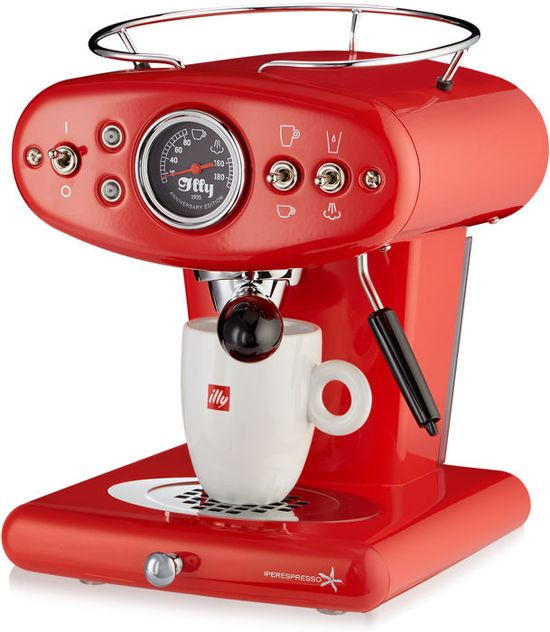 Illy X1 Anniversary Espresso & Coffee Rood