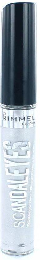 Rimmel London Scandaleyes Eye Shadow Paint - 011 Mercury Silver - Oogschaduw