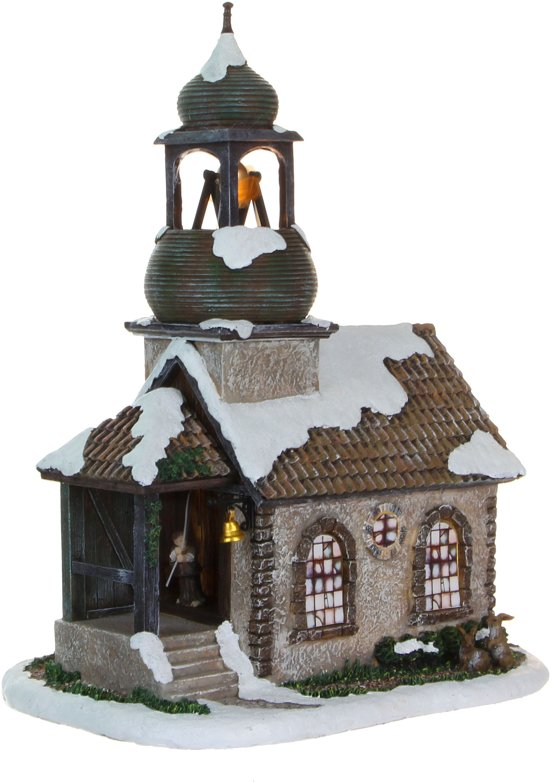 Luville Kerstdecoratie Luville - Church St Fried Incl Adapter