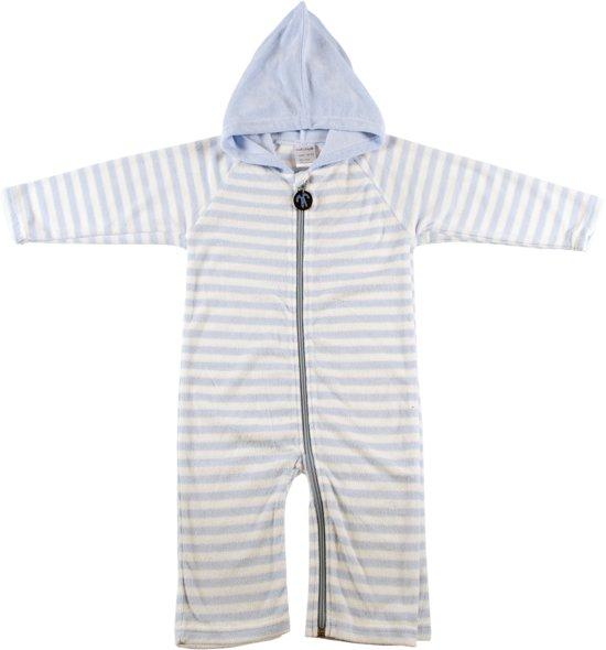 e3cc9bf598c bol.com | Ducksday onesie unisex - Blue stripe - 104/110