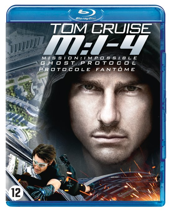 DVD cover van Mission: Impossible 4 - Ghost Protocol (Blu-ray)