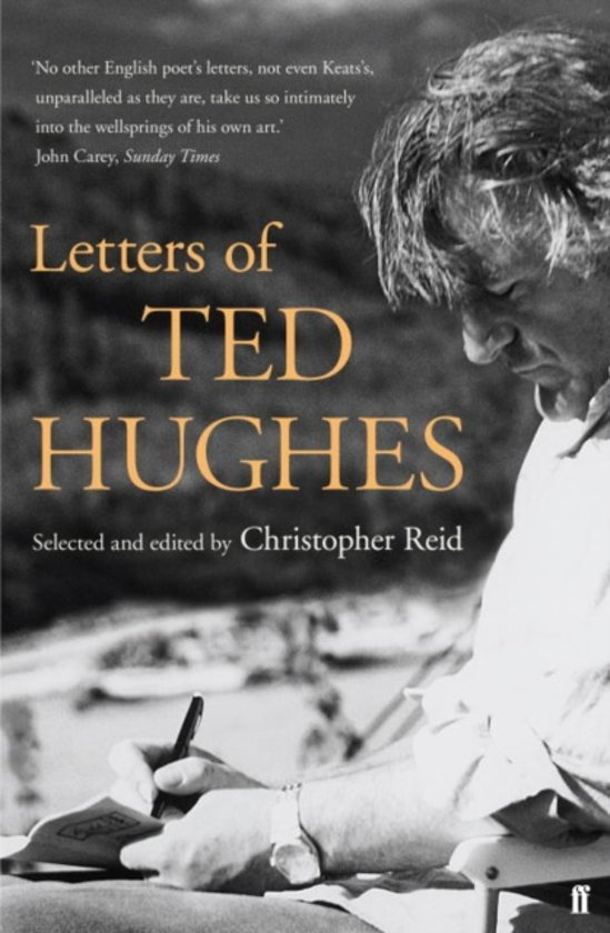 Bolcom Letters Of Ted Hughes Ted Hughes 9780571221394