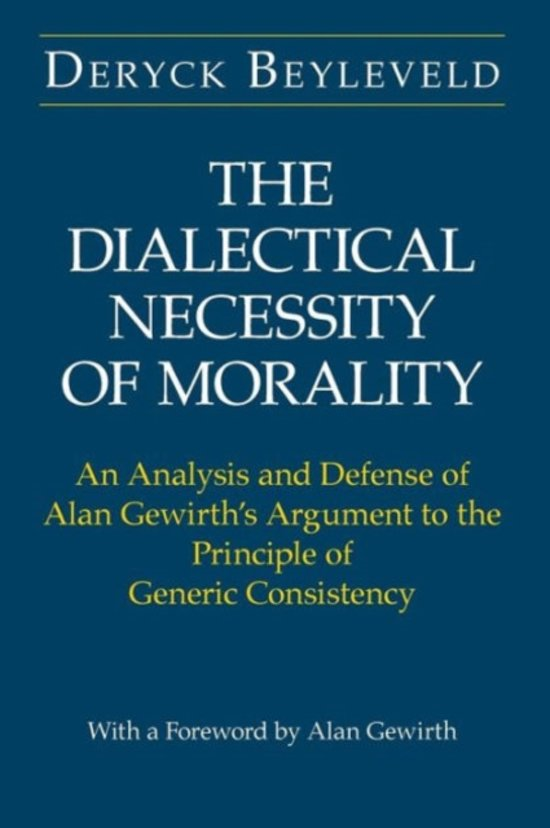 an analysis of the moral principles in life