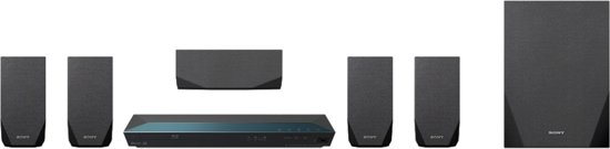 Sony BDV-E2100 - 5.1 Home cinema set - Zwart