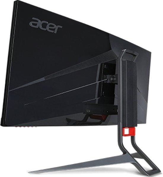 Acer Predator Z321QU 31.5'' Wide Quad HD LED Gebogen Zwart computer monitor
