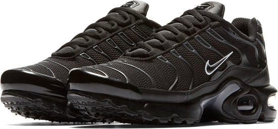 low priced 2cc29 34acf Nike Air Max Plus Sneaker Junior Sneakers - Maat 36.5 - Mannen - zwart