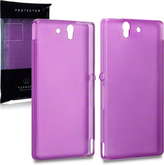 Case Purple Gel Pour Sony Xperia L1 DhtbJx