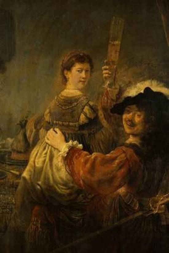 Rembrandt Van Rijn's 'the Prodigal Son in the Tavern' Art of Life Journal (Lined