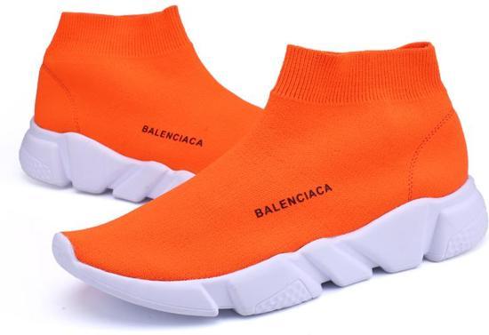 | Sportschoen zonder veters oranje