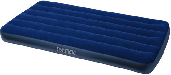 Intex Downy Twin Luchtbed - 1-persoons - 191 x 99 x 22 cm