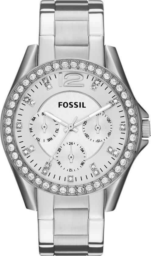 Fossil ES3202 - Horloge - 38 mm - Zilverkleurig