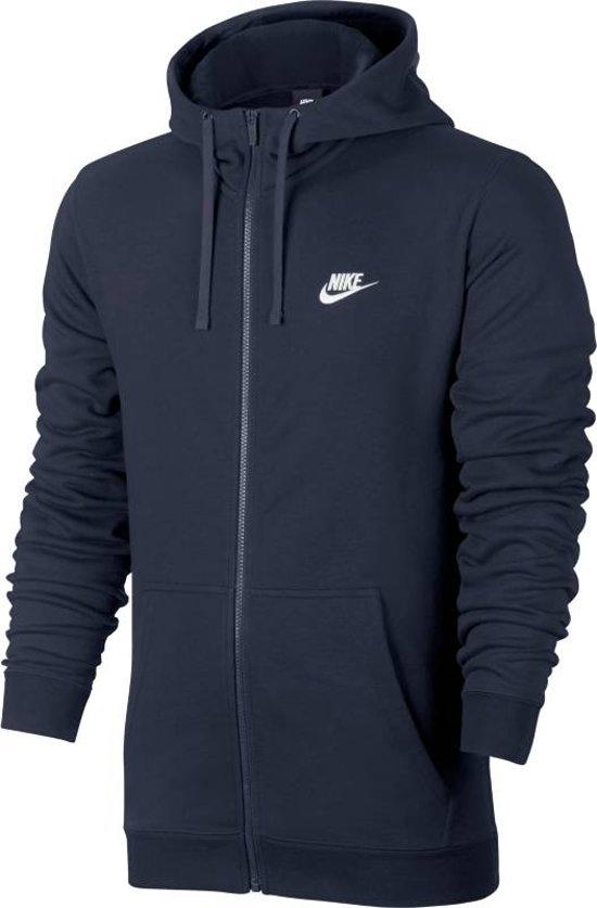 5476f0e4d93 bol.com | Nike Nsw Hoodie Fz Ft Vest Heren - Blauw
