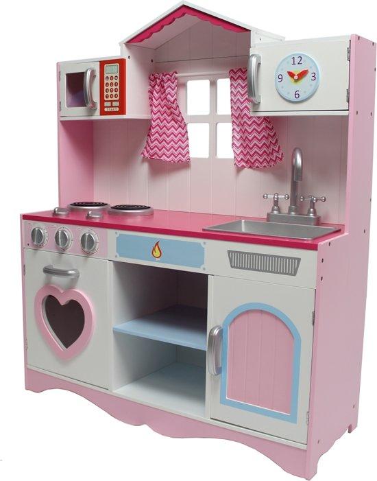 Kidkraft keuken roze fluitketel kopen online internetwinkel kidkraft moderne country - Roze keuken fuchsia ...