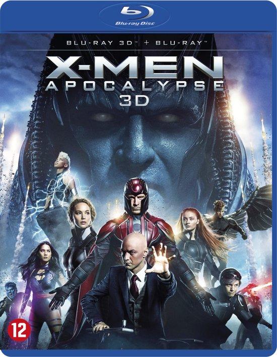 DVD cover van X-MEN: Apocalypse (3D Blu-ray)