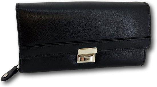 LeonDesign - DD-01V607 - horeca portemonnee - zwart - leer