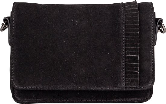 BURKELY RUBY - CLUTCH - ZWART