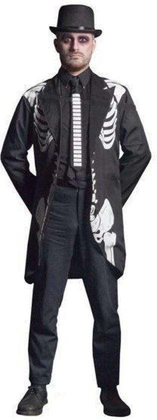 Skelet Halloween Colbert Jasje Heren XL - XXL