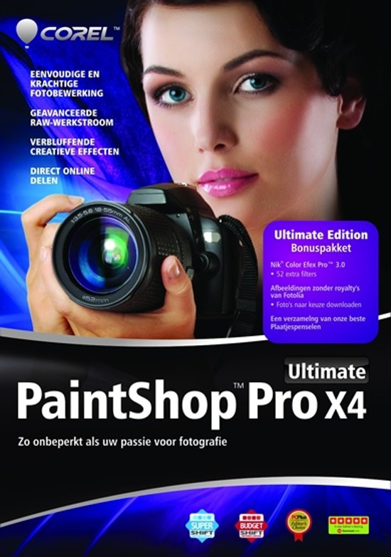 Corel Paintshop Pro X4 Ultimate - Nederlands