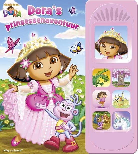 Boek cover Dora - Doras prinsessenavontuur van Kathy Broderick (Hardcover)