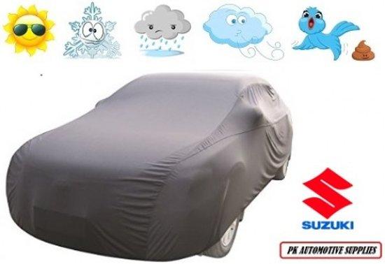 Autohoes Grijs Kunstof Stretch Suzuki Swift 2005-2010