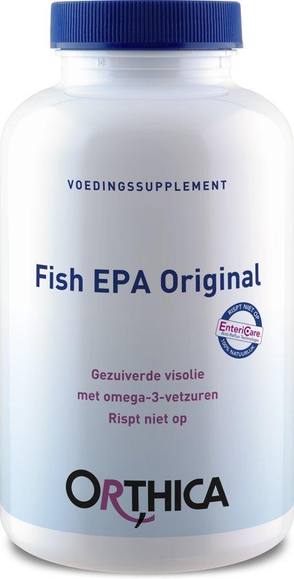 Orthica - Fish EPA Original - 120 Capsules - Visolie - Voedingssupplement