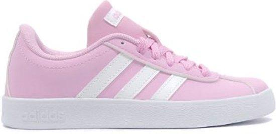 a02cacd4af1 adidas VL Court 2.0 K Sneakers Kinderen - Frost Pink F14 Ftwr White Grey