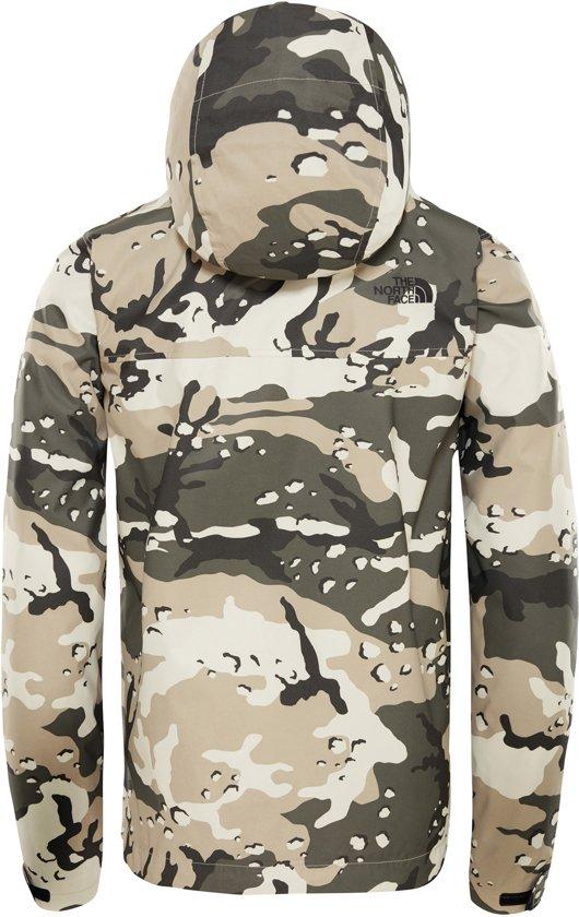 Jacket Beige Heren The Camo Peyote North Woodchip Millerton Print Jas Face Ctatcq