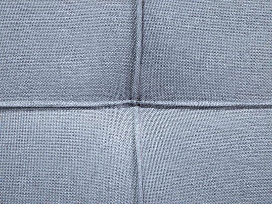 Beliani roxen Bank Grijs polyester