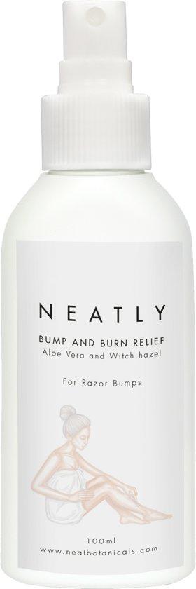 Bump & Burn Relief - Bump stopper with tea tree essential oil   100 % natural & bio   Alternative to exfoliating scrub