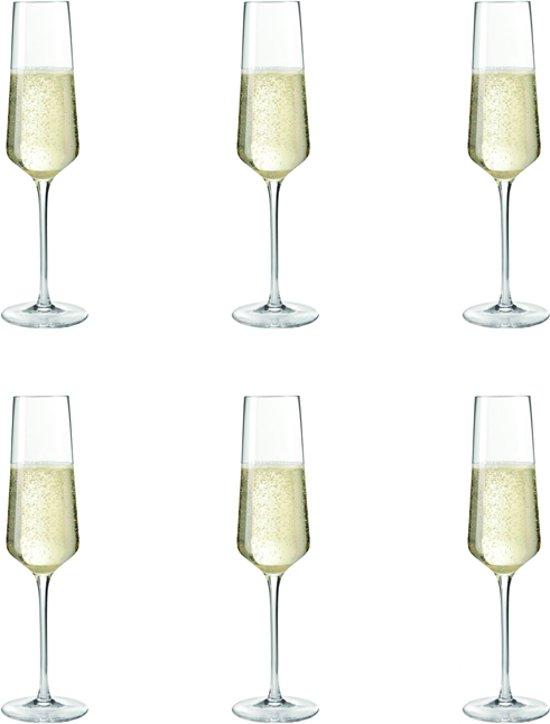 Leonardo Puccini Champagneglas - 6 stuks