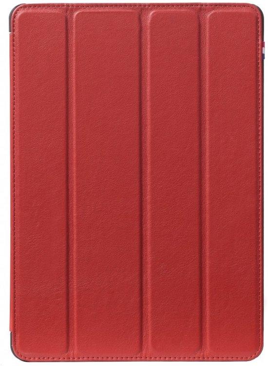 Decoded Slim Cover - Premium Leren Book Cover voor iPad Pro 9.7 inch - Rood
