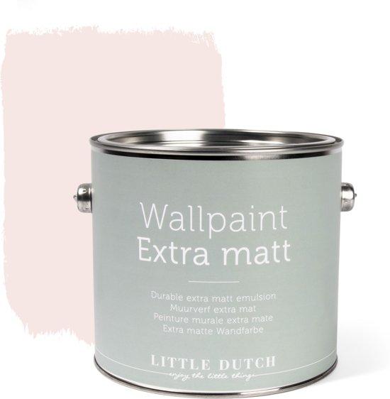 Little Dutch - Muurverf Mat - Adventure Pink - Roze - 2,5 liter