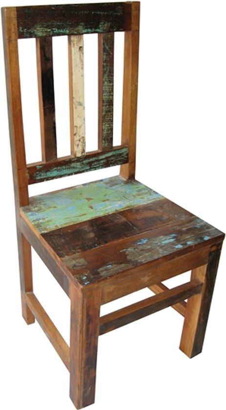 Fairtrade Kinderstoel Scrapwood / Sloophout