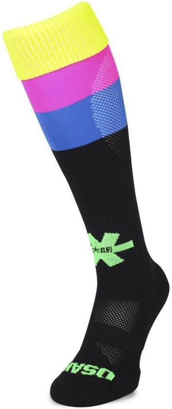 Osaka Fluo 2 Hockeysokken - Sokken  - zwart - 31-35