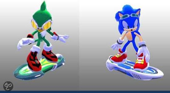 Sonic Free Rider with Board - Sonic (8cm)