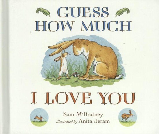 Bolcom Guess How Much I Love You Macbratney 9781406358780 Boeken