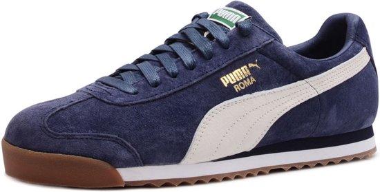 7bb8186c7cc bol.com | Puma Roma Gents Peacoat Blauwe Sneakers - Herenschoenen ...